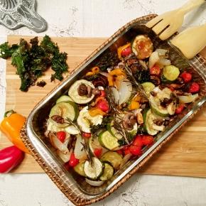 Balsamic Glazed RoastedVegetables