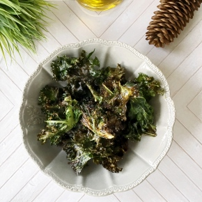 Healthy Homemade Kale Chips